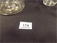 Pitcher, Glasses (4) - grape pattern