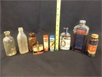 Vintage Bottles, Containers (9)