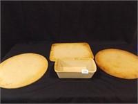 Pampered Chef Baking Stones (3), Pan