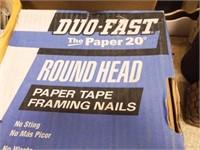 Framing Nails, Staples