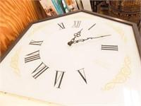 """Dr. Pepper Clock, 40"""" x 20"""" x 5"""""""