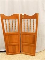 """Café Doors, 41"""" x 14½"""" individual doors"""