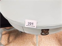 """Half Table 24"""" tall, Round Table 27"""""""