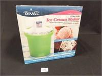Rival Electric Ice Cream Maker, 4 Qt