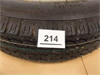 Trail America Tubeless Trailer Tire, 4-80-12