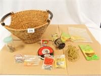 Fishing Gear, Reel, Basket