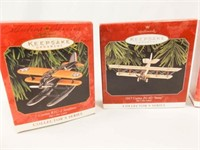 Hallmark Keepsake Airplane Ornaments (5)
