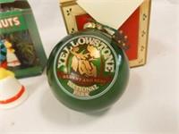 Ornaments (6)- Peanuts, Liberty, Yellowstone
