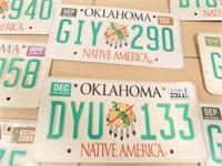 Oklahoma License Plates - '08 -'11 (8)