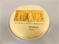Shakespeare Macbeth Reel Movie in Box