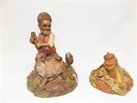 Tim Wolfe, Tom Clark Figurines (2)