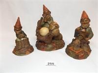 Tim Wolfe, Tom Clark Figurines (3)