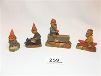 Tom Clark Small Figures(4)
