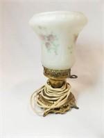 Electric Lamp, Oil Lamp
