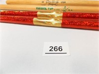 Drumsticks (4) - with name or signature