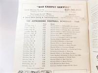 1969 Astros Souvenir Program, Astrodome