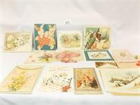 Vintage Cards (12+), some signed