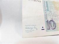 1968, 1991 10 Note Bills (2)