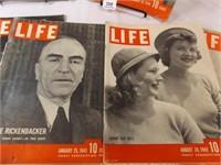 1936-1942 Life Magazines (7)