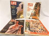 1960's, 1972 Life Magazines (4)
