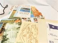 1940's-1970's Travel Maps, Brochures