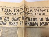 Newspapers - 1939 Dodge City, KS,