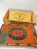 Cigar Boxes, Wood Box (5)