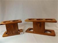 Wooden Holders (2)