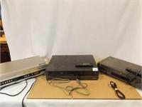 GE, Toshiba, Magnavox Players, 2 remotes