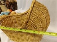 Cabbage Patch Dolls, Head, Basket