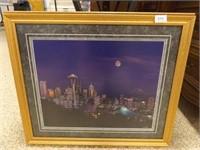 "Seattle Framed Photo - 27"" x 22"""