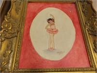 Framed Art, (5), 4 Original Paintings