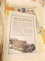 Old Advertising - Loose Pages (25+),