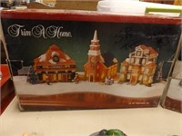 Holiday Villages, Lights, Ornaments