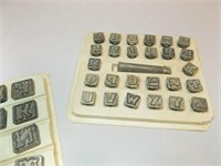 Letters, Numbers Metal Stamps