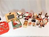 Santa, Reindeer Figurines, Tins, More (12+)