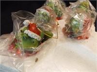 Frog Christmas Ornaments (8)