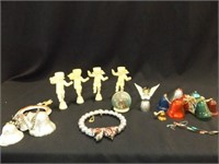 Christmas Ornaments, Holders, Vintage (12+)