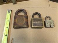 Old Locks, Door Handle, Iron