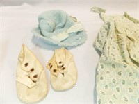 Child, Woman Vintage Apparel Items (8)