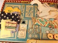 1947 Little Traveler's Sewing Kit, Gold Medal Toy