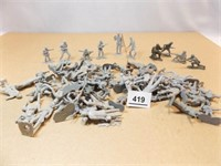 Toy Soldiers - gray (50+)