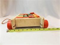 Playskool Col-o-rol Wood Wagon, Blocks