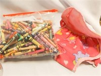 Crayons, Wood Puzzle, Small Toys