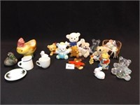 Figurines, Plush Pieces (15+)