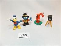 Animated Character Figures (4)