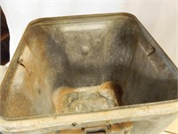 1943 Milcor Metal Container with Lid