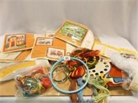 Embroidery Kits, Thread, Yard, Etc.