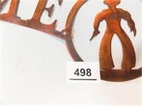 Cowboy Décor (3), Copper Look
