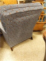 """Upholstered Chair, 33"""" x 27"""" x 37"""""""